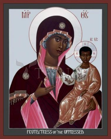 Giclée Print - Mother of God: Protectress of the Oppressed by R. Lentz