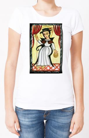 Ladies T-shirt - Holy Child of Atocha by A. Olivas