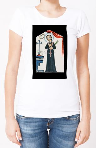 Ladies T-shirt - St. Cayetano by A. Olivas