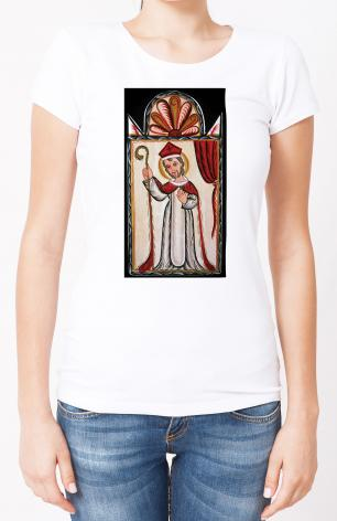 Ladies T-shirt - St. Nicholas by A. Olivas