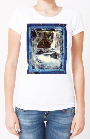 Ladies T-shirt - Eagles Rest Upon Air by B. Gilroy