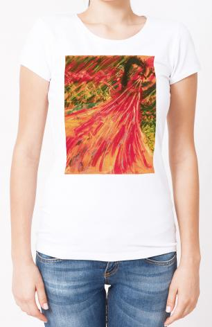 Ladies T-shirt - Breath Of Life by B. Gilroy