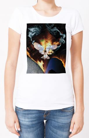 Ladies T-shirt - Dark Parted by His Appearance by B. Gilroy