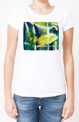 Ladies T-shirt - Fish In Net by B. Gilroy