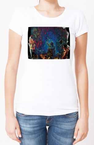 Ladies T-shirt - In The Garden by B. Gilroy