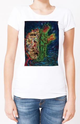 Ladies T-shirt - In The Wilderness by B. Gilroy