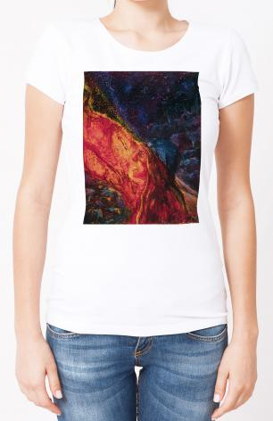 Ladies T-shirt - St. Mary Magdalene by B. Gilroy