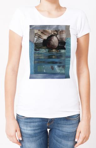 Ladies T-shirt - Seashell by B. Gilroy