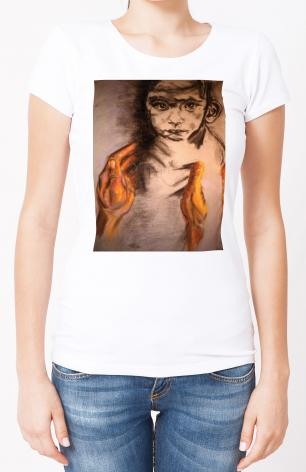 Ladies T-shirt - What Child is This? by B. Gilroy