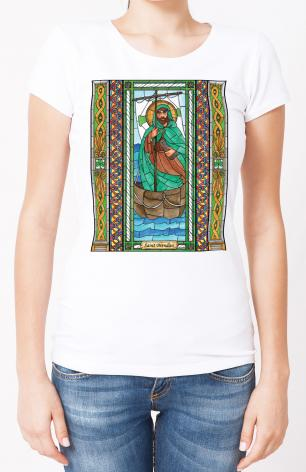 Ladies T-shirt - St. Brendan by B. Nippert