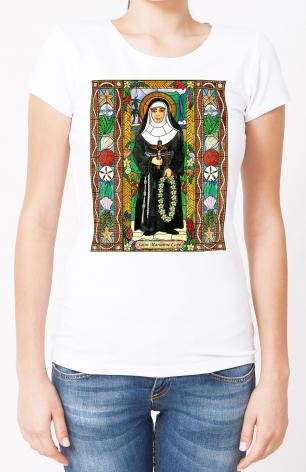 Ladies T-shirt - St. Marianne Cope by B. Nippert