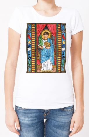 Ladies T-shirt - St. Genesius by B. Nippert