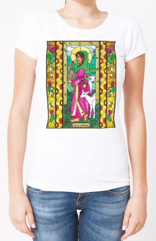 Ladies T-shirt - St. Gobnait by B. Nippert