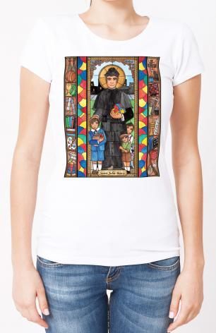 Ladies T-shirt - St. John Bosco by B. Nippert