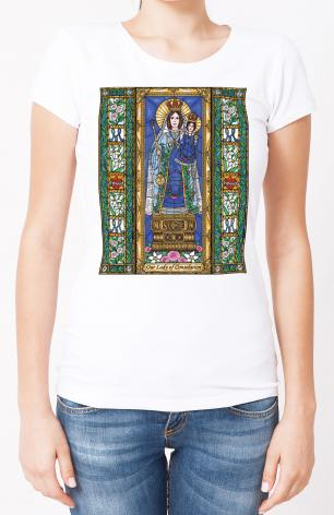Ladies T-shirt - Our Lady of Consolation by B. Nippert