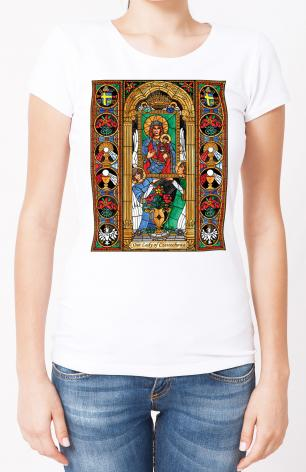 Ladies T-shirt - Our Lady of Czestochowa by B. Nippert