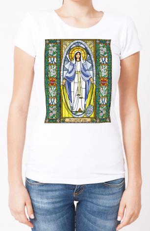 Ladies T-shirt - Our Lady of Grace by B. Nippert