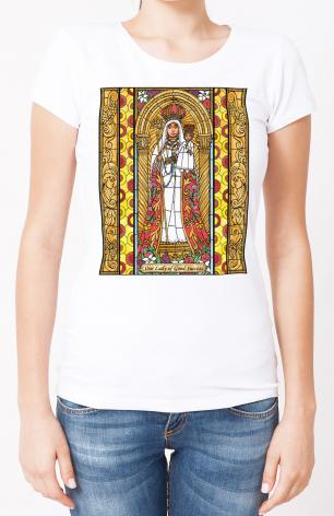 Ladies T-shirt - Our Lady of Good Success by B. Nippert