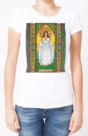 Ladies T-shirt - Our Lady of Knock by B. Nippert