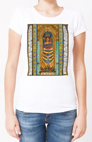 Ladies T-shirt - Our Lady of Loreto by B. Nippert
