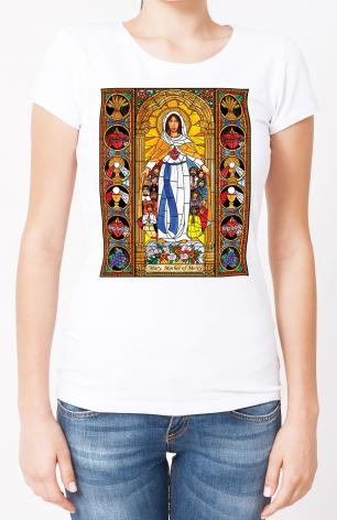 Ladies T-shirt - Mary, Mother of Mercy by B. Nippert