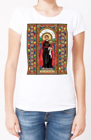 Ladies T-shirt - St. John Neumann by B. Nippert
