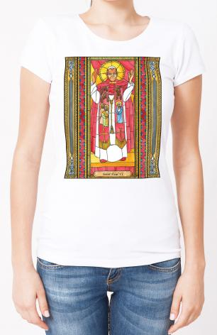 Ladies T-shirt - St. Paul VI by B. Nippert