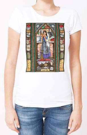 Ladies T-shirt - St. Zita by B. Nippert