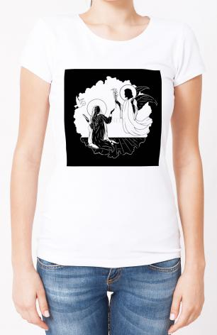 Ladies T-shirt - Annunciation by D. Paulos
