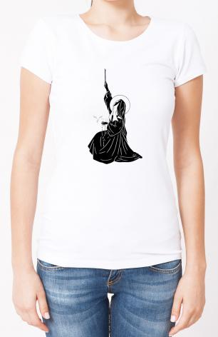 Ladies T-shirt - St. Bernadette's Ave by D. Paulos