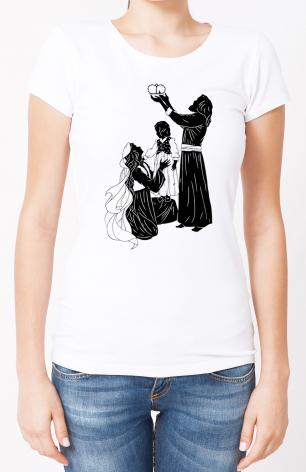 Ladies T-shirt - Behold Thy King by D. Paulos