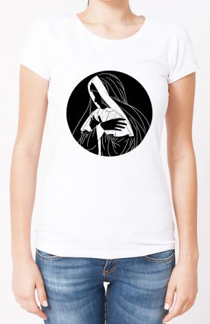 Ladies T-shirt - Mater Dolorosa by D. Paulos