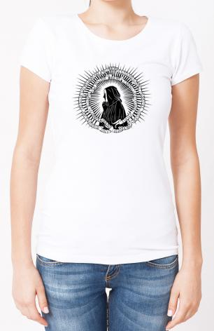Ladies T-shirt - St. Jeanne Jugan by D. Paulos