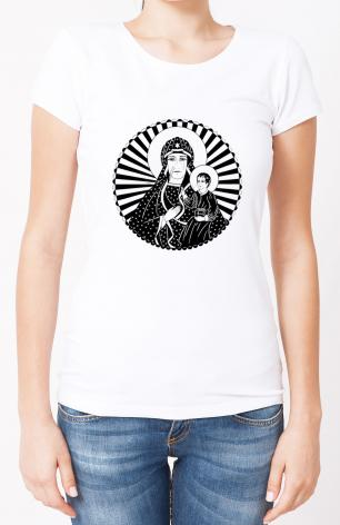 Ladies T-shirt - Mother of Poland by D. Paulos