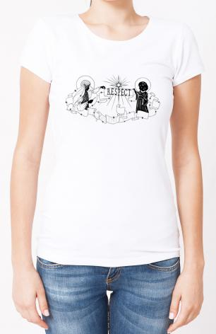 Ladies T-shirt - Respect by D. Paulos