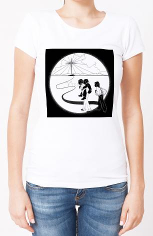 Ladies T-shirt - Come to the Stable by D. Paulos