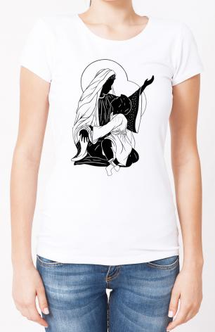 Ladies T-shirt - Throne of God by D. Paulos