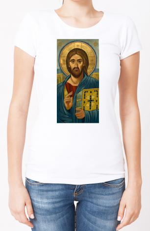 Ladies T-shirt - Christ Blessing by J. Cole