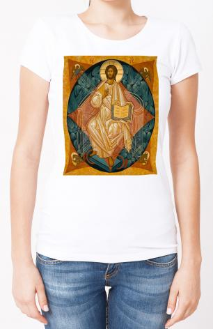 Ladies T-shirt - Christ Enthroned by J. Cole