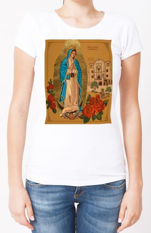 Ladies T-shirt - Our Lady of Guadalupe by J. Cole