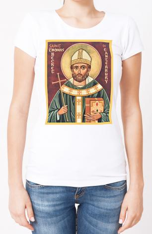 Ladies T-shirt - St. Thomas Becket by J. Cole