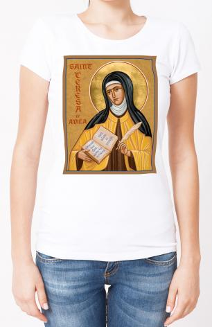 Ladies T-shirt - St. Teresa of Avila by J. Cole
