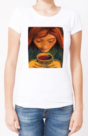 Ladies T-shirt - Communion Cup by J. Lonneman