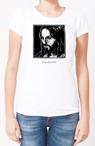 Ladies T-shirt - Jesus, the Christ by J. Lonneman