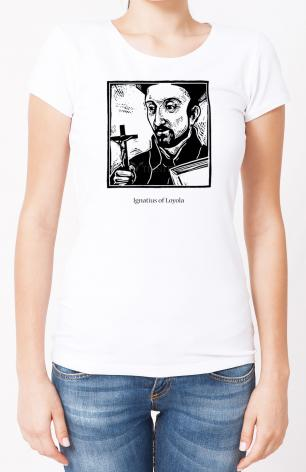 Ladies T-shirt - St. Ignatius by J. Lonneman