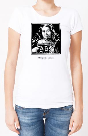 Ladies T-shirt - Marguerite Naseau by J. Lonneman