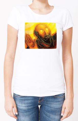 Ladies T-shirt - Conversion of Saul by J. Lonneman