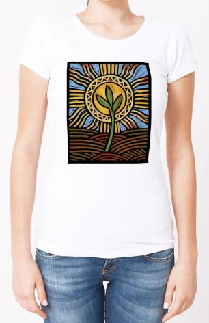 Ladies T-shirt - Easter Seedling by J. Lonneman
