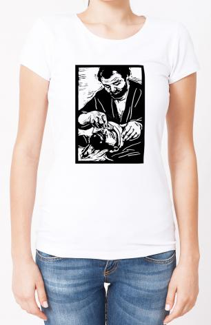 Ladies T-shirt - The Good Samaritan by J. Lonneman