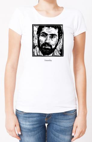 Ladies T-shirt - St. Timothy by J. Lonneman